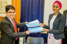 SCAF's Ambassador - Zahra Buhari exchanging partnership agreement between @scafnigeria and the Renowned Narayana Health Clinic on Bone Marrow &Stem Cell Transplant.  This agreement would ensure that more Nigerians get access to Bone Marrow Transplant (BMT) an option for Sickle Cell warriors.  #KnowYourGenotype #SickleCellAwarenessDay #NurasStory #KnowYourGenotype #Steevane #SV