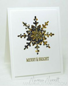All that Glitter is Gold (& Silver) - Mama Mo Stamps