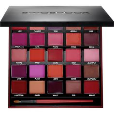 Smashbox For Twenty Five Years Our Lips Have Been Sealed Palette found on Polyvore featuring beauty products, makeup, lip makeup, smashbox, lips makeup, coral makeup, smashbox cosmetics and matte makeup