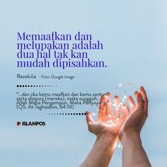 Quran Quotes Inspirational, Islamic Love Quotes, Muslim Quotes, Dear Self, Ramadan Mubarak, Wonder Quotes, Islam Muslim, Self Reminder, Quotes Indonesia