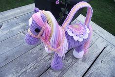 Ravelry: theburdenissweet's Bella's Pretty Pony Purse