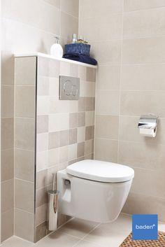 De Nano badkamer van Bruynzeel is een supercomplete badkamer, die past bij elk gezin. Met een zwevend toilet met Geberit inbouwreservoir. Toilet, Beige, Bathroom, Attic Bathroom, Washroom, Flush Toilet, Full Bath, Toilets, Bath
