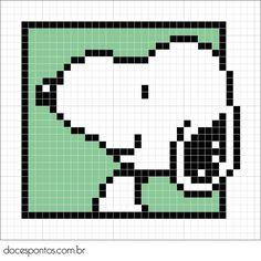 Doces Pontos: Snoopy                                                                                                                                                                                 Mais