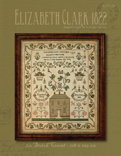 With thy Needle & Thread: Elizabeth Clark 1822!