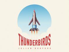 Thunderbird 1 by artists Julian Burford.