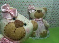 Ursinhas de feltro