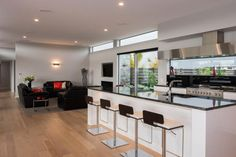 2015 Gold Award Winner Preston Downs Home Award Winner, Preston, Cladding, Awards, Space, Kitchen, Table, House, Furniture