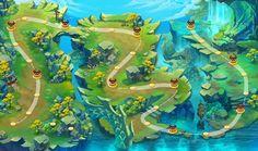 ArtStation - map, NANA X