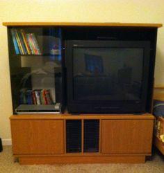 TV and Entertainment Center in ccflora's Garage Sale Teutopolis, IL