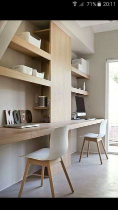 Contemporary home office by http://www.uniqueinteriorstyles.com/home ...