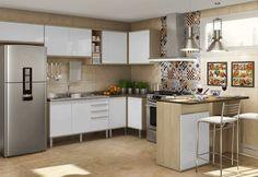 armário de cozinha amadeirados tendências - Pesquisa Google