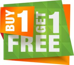 Avail buy 1 get 1 free offers from various online store