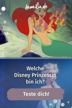 Welche Disney Prinzessin bin ich: Cinderella, Arielle oder doch Elsa? Wenn du dich schon immer gefragt hast, in welchen Disney-Film du wohl am besten passen würdest, bist du hier genau richtig. Unser Psychotest verrät dir, in welcher Prinzessinnenrobe du dich am wohlsten fühlen würdest. #disney #prinzessin #test #persönlichkeit #disneyfilm #arielle #elsa #cinderella #princess #testen #getestet #disneyprinzessin Elsa, Cinderella, Film, Childhood Education, Family Life, Ariel, Parents, Jelsa