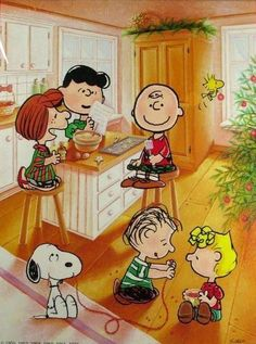 Discover collectible Peanuts Springbok Puzzles featuring Snoopy, Woodstock, Charlie Brown, and the Peanuts Gang from the comic by Charles M. Peanuts Christmas, Christmas Cartoons, Charlie Brown Christmas, Charlie Brown And Snoopy, Christmas Art, Christmas Pictures, Christmas Cookies, Snoopy Images, Snoopy Pictures