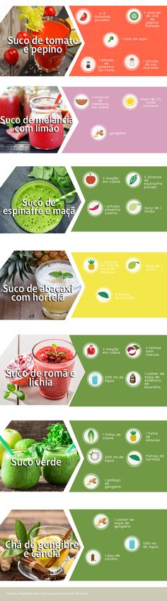 #sucos #sucoverde #receitas Healthy Lifestyle Tips, Healthy Habits, Healthy Tips, Healthy Recipes, Menu Dieta, Light Diet, Fitness Photoshoot, Cocktail Drinks, Going Vegan