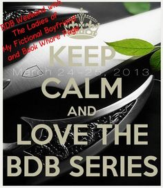 I've started the first book no turning back now! Black dagger brotherhood