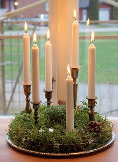 Lys - Candles diy ideer - Happy Christmas - Noel 2020 ideas-Happy New Year-Christmas Christmas Feeling, Scandinavian Christmas, Christmas Porch, Rustic Christmas, Simple Christmas, Winter Christmas, Christmas Crafts, Christmas Decorations, Xmas