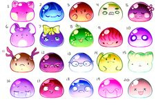 BLOBS 12 Adopts [Closed] by Wafkie