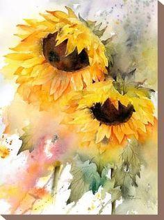 Sunflower DuoBy Rachel McNaughton Sunflower DuoBy Rachel McNaughton The post Sunflower DuoBy Rachel McNaughton appeared first on Blumen ideen. Watercolor Cards, Watercolor Flowers, Sunflower Watercolour, Watercolor Ideas, Watercolor Paintings Tumblr, Watercolor Lotus, Tattoo Watercolor, Art Floral, Sunflower Art
