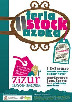 CARTEL II FERIA-STOCK 2013 #Zizur Mayor