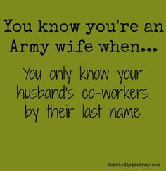 cool Army Wife & Family Information and Resources: Married to the Army by http://dezdemonhumoraddiction.space/husband-wife-humor/army-wife-family-information-and-resources-married-to-the-army/