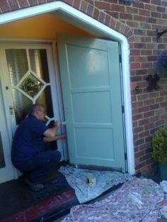 Lovely painted door