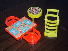 Vintage Little People Grill, Lawn Chair and Picnic Set for sale on eBay