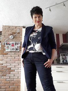 Hose und Shirt: Gerry Weber - Blazer: Tom Tailor - Schuhe: s. Oliver - Gürtel: bonprix