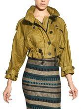 Burberry Prorsum Croquet Beaded Collar Jacket