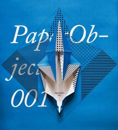 Check out these nifty series of origami paper foldings called PaperObject by the Italian creative studio, Happycentro.