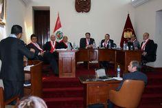 AREQUIPA. Con un balance sobre la jurisprudencia del TC se inauguró en Arequipa la agenda constitucional 2014 http://hbanoticias.com/6946