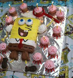 Sponge Bob cake by Rhonda.