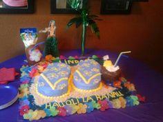 Flip Flip Cake, with       pina-colada Cake!