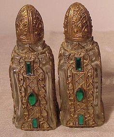 Pair of Jewelled and Ormolu Perfumes
