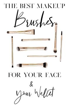The Best Makeup Brushes Simply Beauty Makeup Skincare- Hair Care Fashion Tips (Group Board) Clean Beauty, Diy Beauty, Beauty Makeup, Beauty Hacks, Beauty Tips, Beauty Blogs, Body Makeup, Natural Beauty, Beauty Brushes