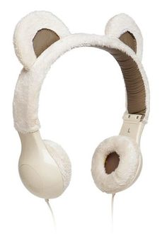 Headphones should be fun as well as functional. That's what these Furry Plush Headphones are all about, providing both things in one package. These cute headphones are compatible with standard audio jacks kawaii and cute products or gadgets K All Things Cute, Things To Buy, Stuff To Buy, Pilou Pilou, Cute Headphones, Wireless Headphones, Mode Kawaii, Kawaii Accessories, Fur Accessories