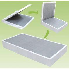 "❤ Zinus 9/"" High Profile Bifold Box Spring//Folding Mattress Foundation//Strong Ste"