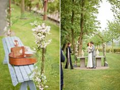 Spring Time in Sweden ~ A Rustic, Vintage and Home-Made Inspired Wedding...