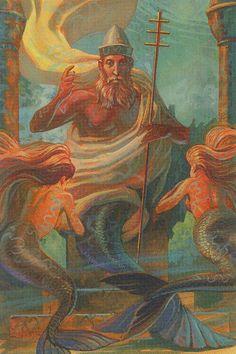 Tarot of Mermaids - The Hierophant