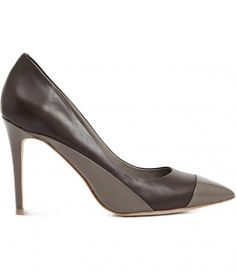 Reiss Mimosa PATENT TOE CAP POINTED SHOES