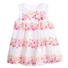 Mayoral Baby Girls Pink Floral Dress & Knickers Set at Childrensalon.com