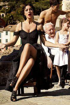 Monica Belluci - Capricorns love earthy beauty, like Ms. Belluci.