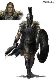 Achilles - Warriors: Legends of Troy Concept Art