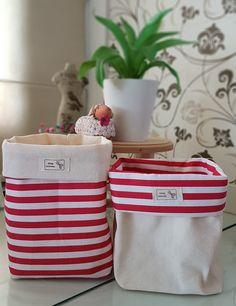 Minha nova paixão! Estou amando confeccionar organizadores de tecido!