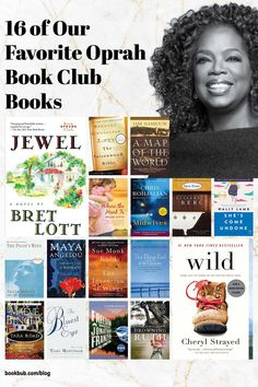 Searching for book club books to read next? Check out these tried-and-true favorites recommended by Oprah. #books #bookclub #bookclubbooks
