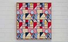 Melbourne based artist painting geometric stripped back palettes murals Postmodernism, Artist Painting, Color Blocking, Graphic Art, Wall Art, Art Walls, Street Art, In This Moment, Quilts