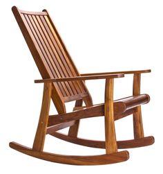 Teakstore: Cadeira de balanço de teca