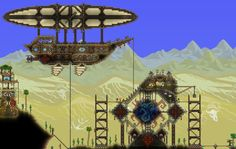 Steampunk research center - http://forums.terraria.org/index.php?threads/tenthys-creations.26450/