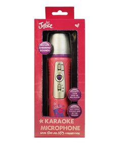 Look what I found on #zulily! MP3 Karaoke Microphone by Sakar #zulilyfinds