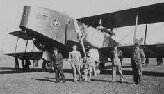 Lioré et Olivier 213 - 5ème escadrille (SPA Bi 2), 1ère Escadre d'Afrique (ou/or Groupe d'Infanterie de l'Air n°602) Djidjelli, Algerie, hiver 1935.